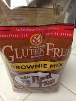 g-free brownies
