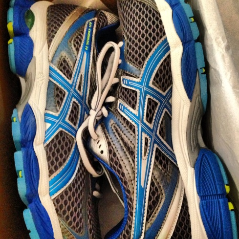 New running shoes-Asics Gel Cumulus 14