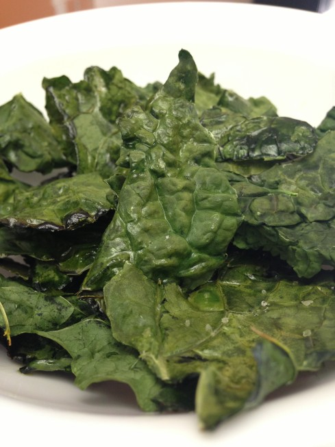 Simple Kale Chips Recipe